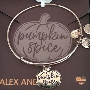 "ALEX and ANI'S ""PUMPKIN SPICE"" Gold Bracelet"